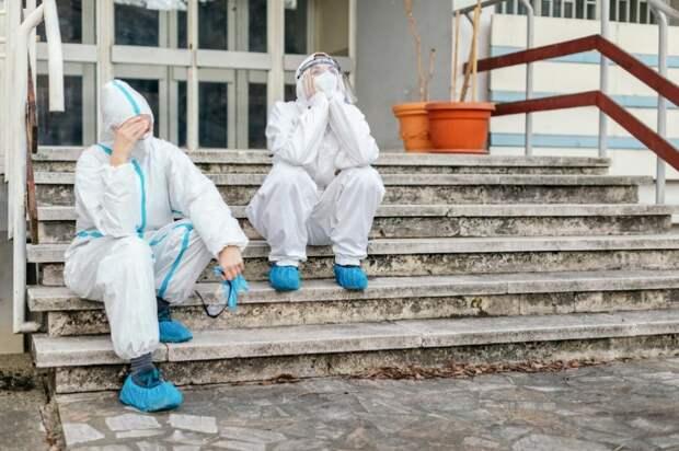 «Выгоранию.нет»: вРоссии запустили проект психологической помощи уставшим медработникам: Новости ➕1, 18.06.2021