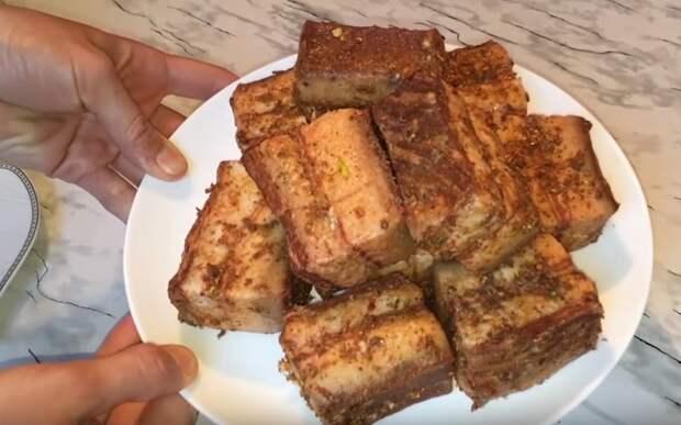 сало в луковой шелухе как готовить