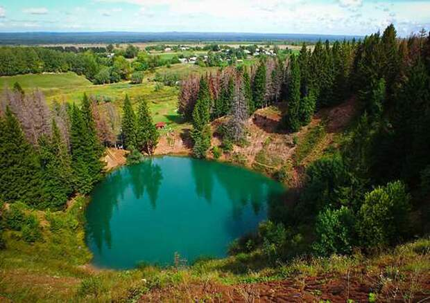 Озеро Морской Глаз, республика Марий Эл.