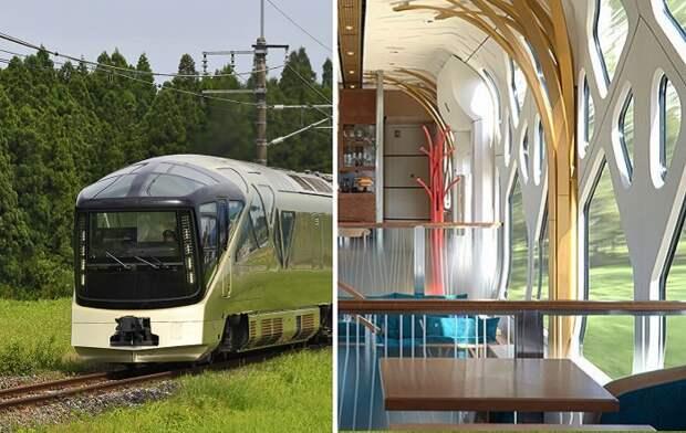 Как выглядит дорогущий поезд в Японии, поездка на котором оправдывает каждый потраченный доллар
