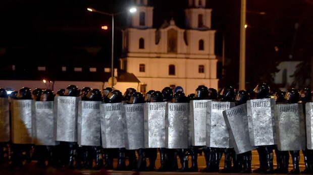 В МВД Белоруссии заявили о контроле над ситуацией в Минске