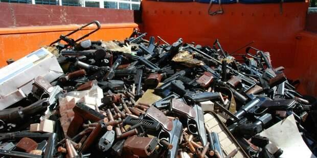 В России введут налог на утилизацию оружия