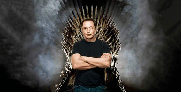 Илон Маск устроил детям экскурсию по съемочной площадке «Игры престолов»