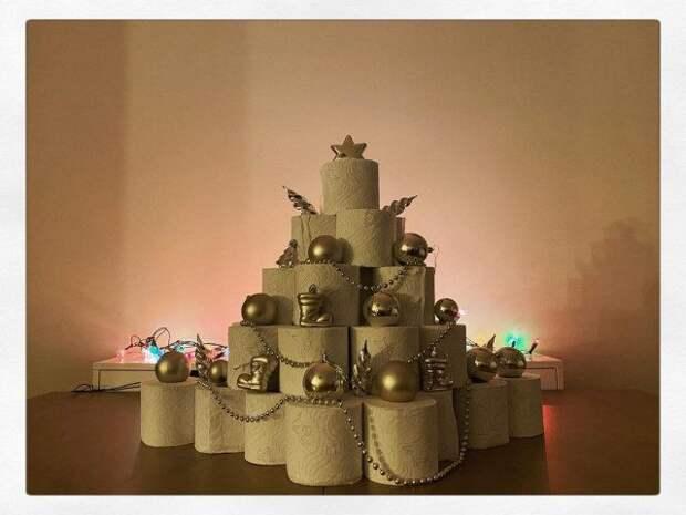 Прикольные и креативные новогодние ёлки