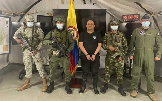 В Колумбии задержали крупного наркобарона, которого сравнивают с Пабло Эскобаром