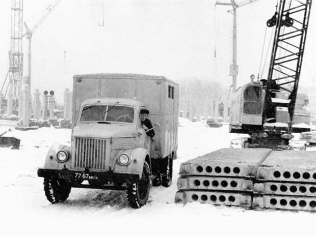 ГАЗ-51 СССР, автомобили, советская техника, советские машины