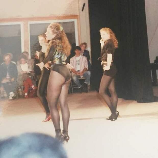 Секс-символ 90-ых Эвелина Бледанс в 19-летнем возрасте.
