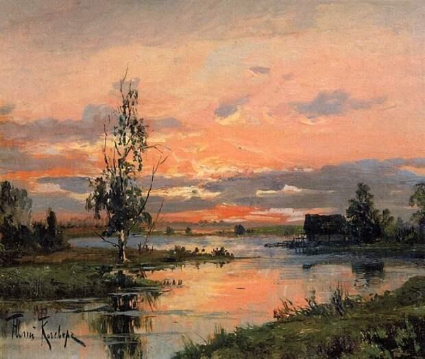 художник Юлий Юльевич Клевер картины – 16