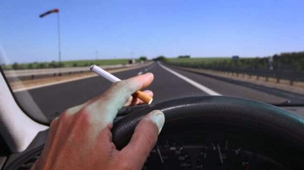Что грозит водителям за выброшенный из окна окурок