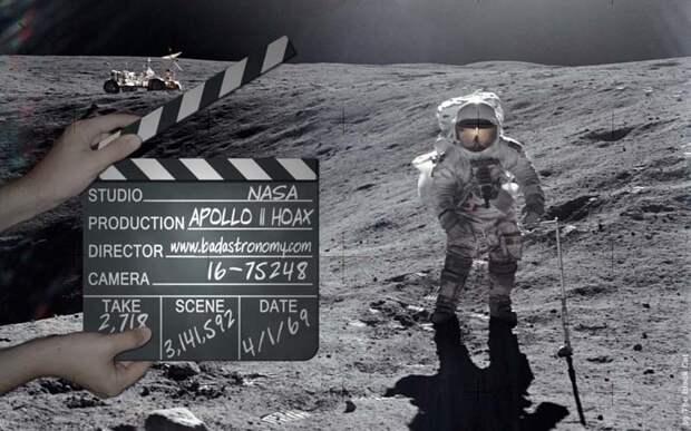 Шаланды полные фекалий. К вопросам полётов американцев на Луну
