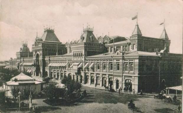 Нижегородская ярмарка: история феномена в старинных фотографиях