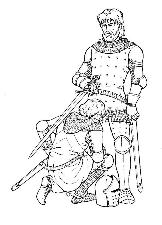 Оруженосец: слуга, помощник или верный друг?