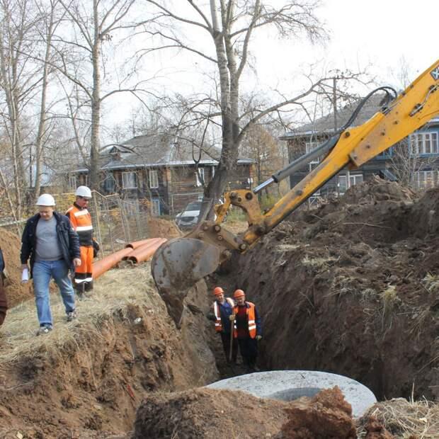В поселке Машиностроителей в Ижевске начали строить детский сад