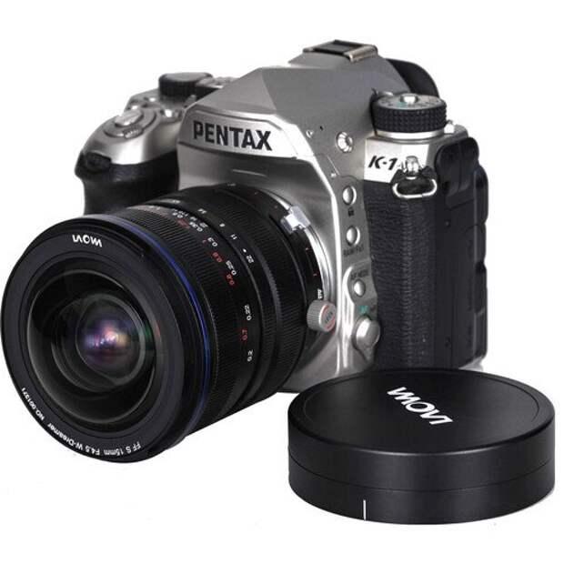 Объектив Laowa 15mm f/4.5 Zero-D Shift стал доступен в варианте с креплением Pentax K