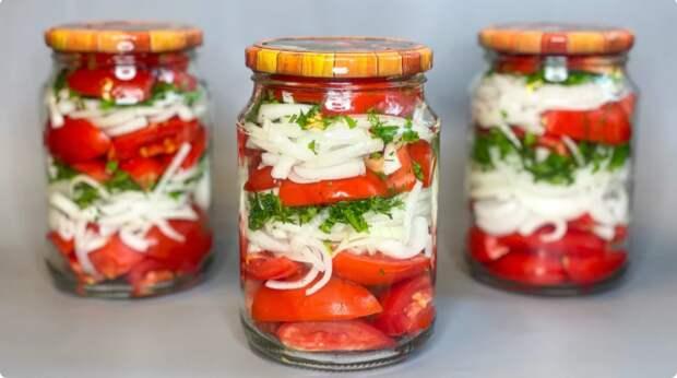 Армянский рецепт маринованных помидоров на зиму