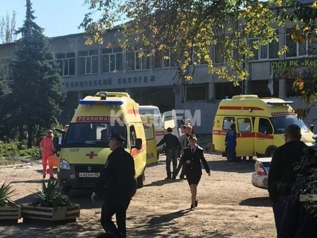 В качестве возможной версии взрыва в Керчи рассматривается теракт