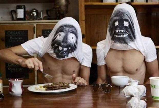 Забавные фотографии и картинки из сети про мужчин