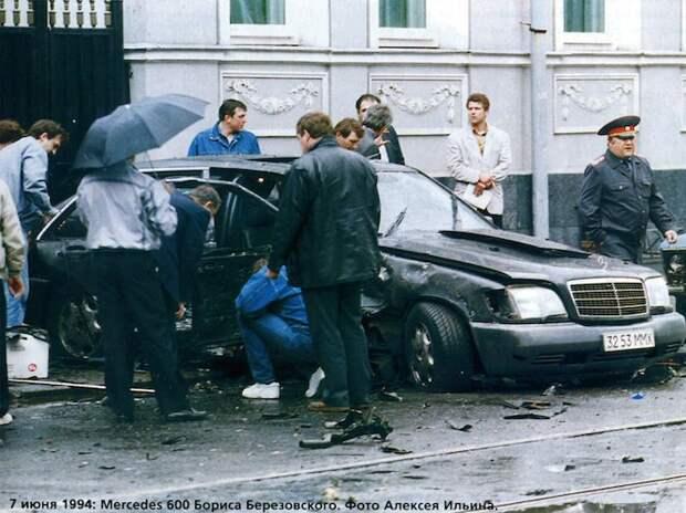 Покушение на Бориса Березовского 7 июня 1994 года .