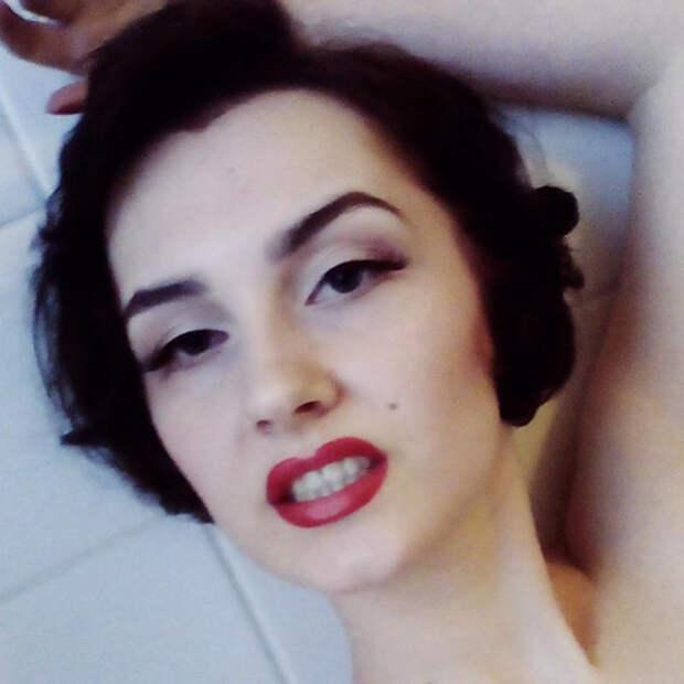 Образ Мэрилин Монро  девушка, перевоплощение