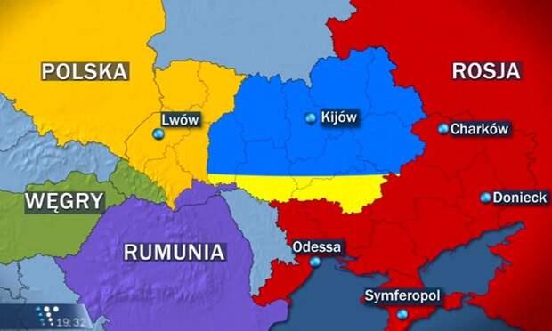 Майданная правда: Вступив в ЕС, Украина ужмётся до пары областе