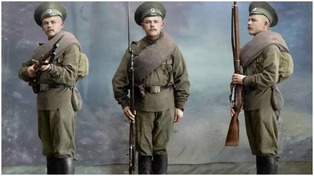 Обмундирование выдавалось солдатам один раз в году / Фото: yandex.ua
