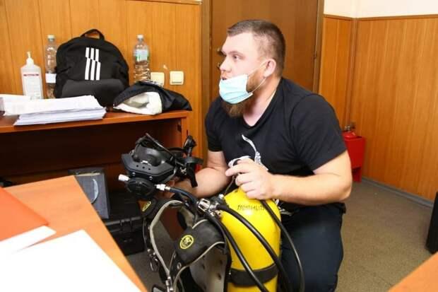 354 водолаза получили допуск к работе на поисково-спасательной станции «Строгино»