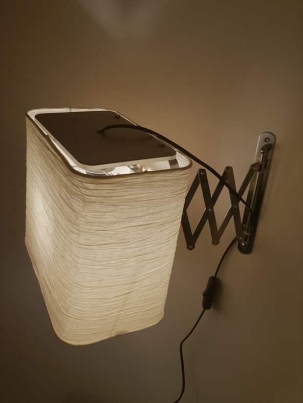 Выдвижной светильник DIY