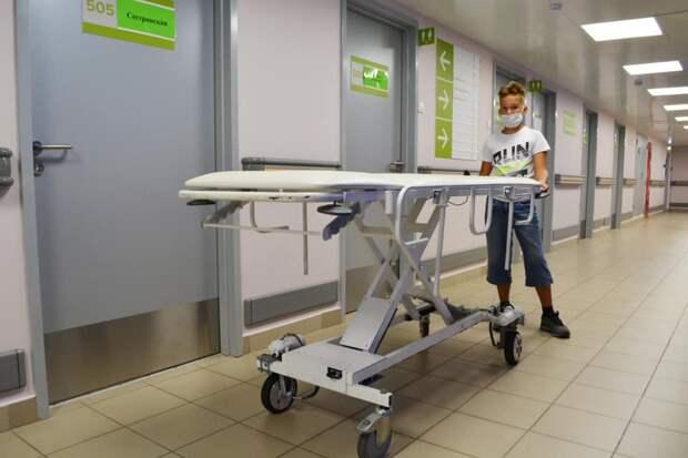 Третьеклассник из Казани сконструировал электро-каталку и привез её в больницу №67