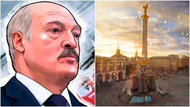 """Украинцы считают, что уровень поддержки Лукашенко в их стране превышает 36% / Коллаж: ФБА """"Экономика сегодня"""""""