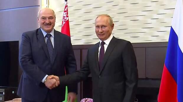 Стало известно о телефонном разговоре Владимира Путина и Александра Лукашенко