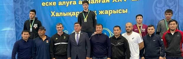 Спортсмены из Мангистауской области стали призерами международного турнира