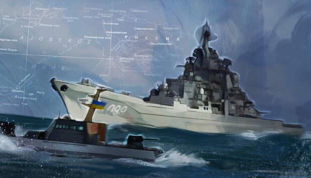 Собранный Киевом со всего мира металлолом под видом флота затонет после первого шторма