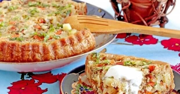 Необычное жаркое с куриной грудкой: запекаем блюдо в тесте