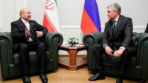 Вячеслав Володин и Мохаммад Багер Галибаф. Фото: duma.gov.ru