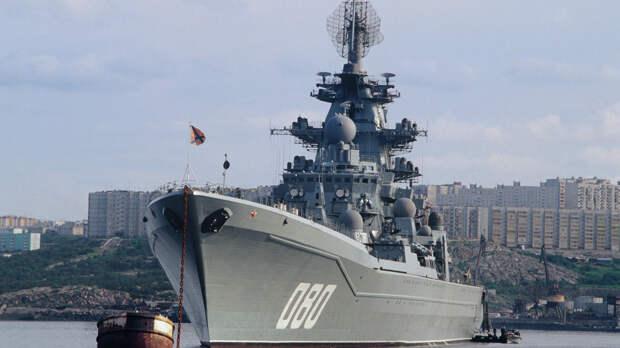 National Interest назвал российский крейсер «Адмирал Нахимов» угрозой для ВМС США