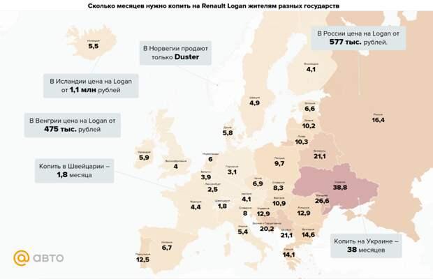 Сколько надо копить на машину в России и за границей