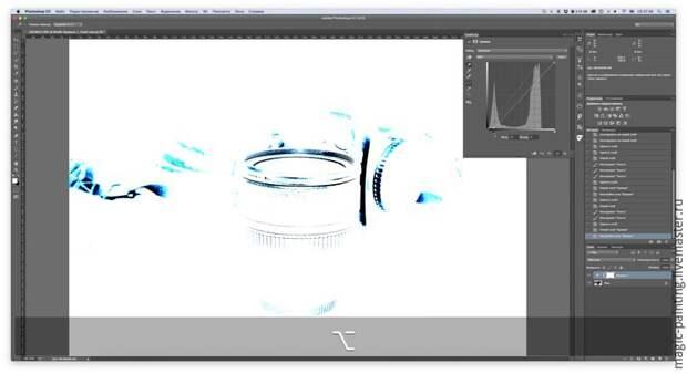 Как с помощью Photoshop быстро избавиться от пыли на темном предмете