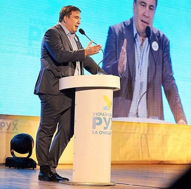 Саакашвили: Как низко пал Путин