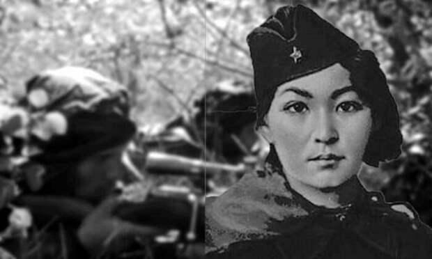 Как удалось хрупкой 18-летней девушке уничтожить почти 80 фашистов: Снайпер Алия Молдагулова