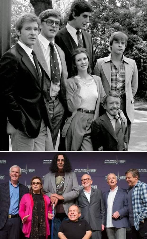 Тогда и сейчас: Звездные атёрские составы знаменитых фильмов спустя годы