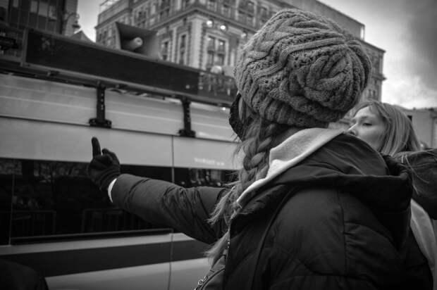 Что такое «протестный маркетинг»: черно-белая фотоистория