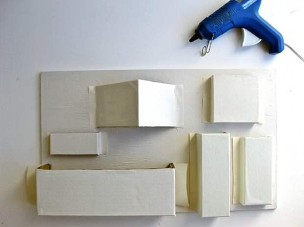 поделки с детьми из бумаги и картона своими руками