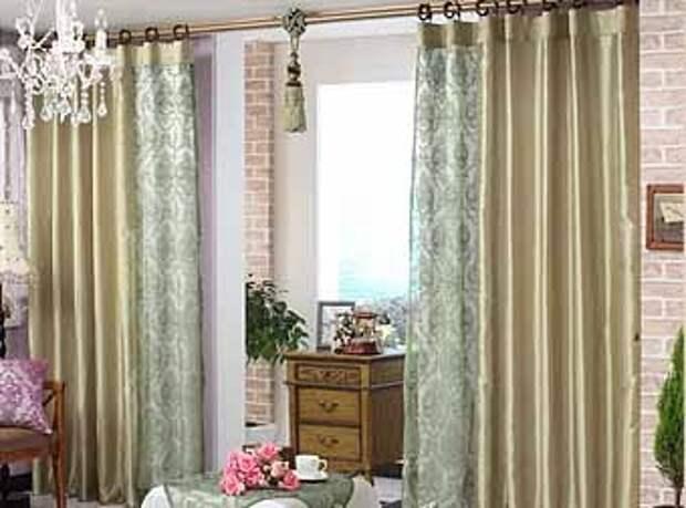 межкомнатные шторы модного цвета