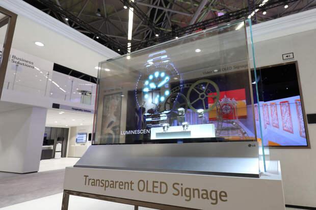 Компания LG на CES 2021 представила кровать с дисплеем и прозрачный телевизор