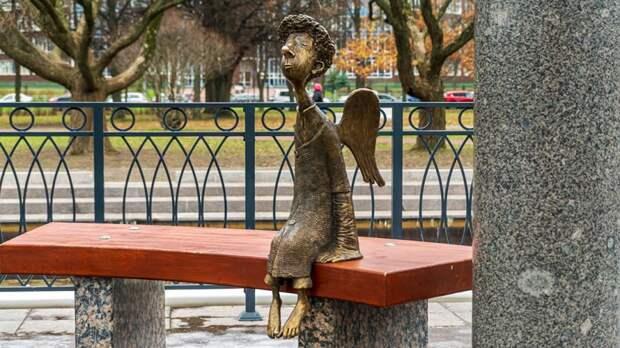 Ангел в Любашинском саду