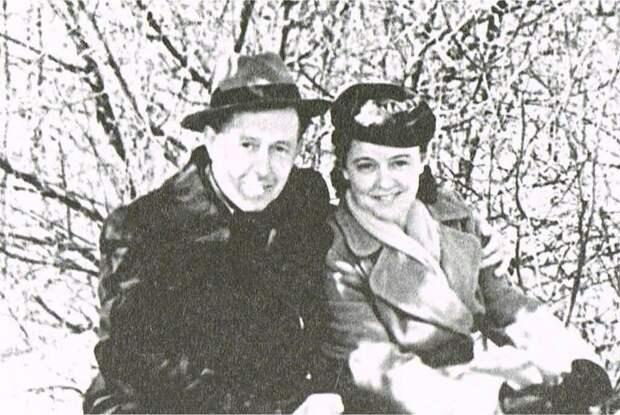 Солженицын и Наталья Решетовская. Фото: общественное достояние.