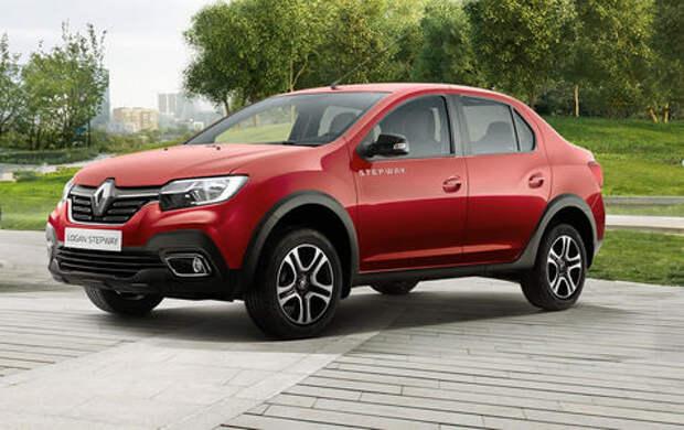 Renault показала кросс-версию Logan