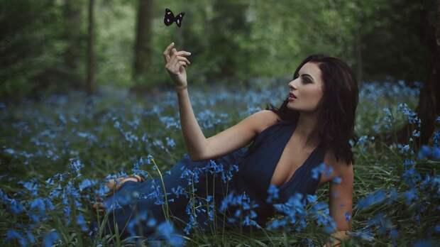 Классные фотографии: лето, девушки и природа