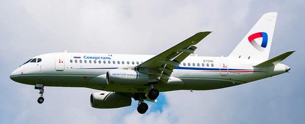 Авиакомпания Северсталь получила первый самолет SSJ-100