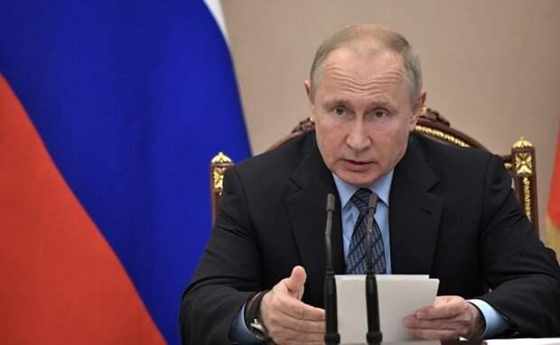 Путин считает, что у россиян нет ощущения перемен к лучшему от реализации нацпроектов